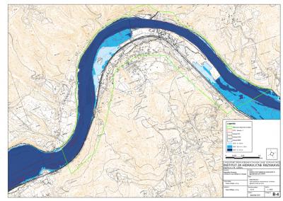 2D karta poplavne nevarnosti